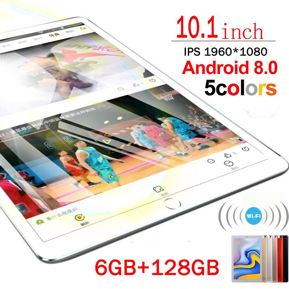 2020 New 10 Inch Tablet Pc 6G+128GB Android 8.0 Ten Core Dual SIM Tablet 4G Phone Call Tablets WiFi  Android Tablet