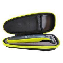جديد الصلب إيفا واقية السفر حالة حمل حقيبة ل فيليبس Norelco OneBlade الانتهازي ماكينة حلاقة QP2530/QP2520 و اكسسوارات