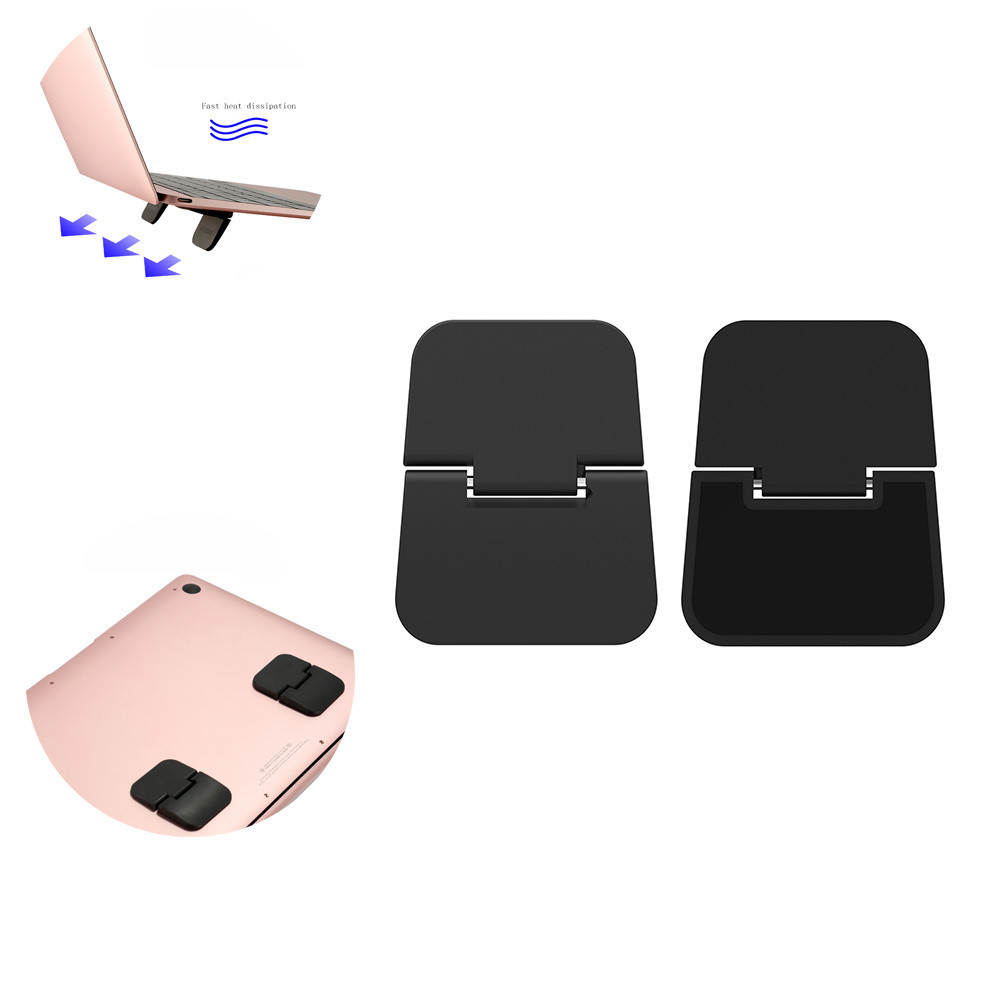 Desk Laptop Stand Foldable Notebook Cooling Bracket Holder Cooler Radiator For Ipad Macbook Air Desk Stand