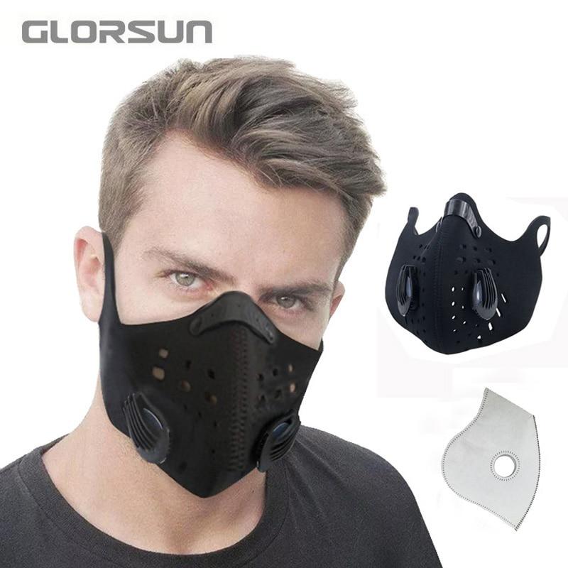 masque sport anti pollution