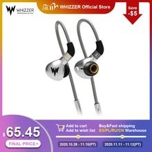 Whizzer A15 Hifi Bass Koptelefoon Metalen In Ear Oortelefoon Dynamische Hi Res Oordopjes Met Mmcx Connector 3.5Mm Wired bass Koptelefoon