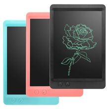 цена на 10.5 LCD Tablet Portable Writing Pad E-writer Graphic Kid DIY Drawing Work Board Can Wipe Part Of The Writing