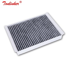 Cabin Air Filter สำหรับ Ford Mustang Convertible/Coupe 2.3 EcoBoost 5.0L V8 รุ่น 2015 2016 2017 2018 2019 1Pcs รถกรอง