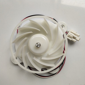 Image 1 - Refrigerator Fan Motor ZWF 30 3 DC12V 2.5W 1870RPM Refrigerator Parts Replacement