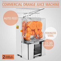 Auto Feed wyciskacz do pomarańczy sokowirówka pomarańczowy sokowirówka maszyna do produkcji soku w Ręczne sokowniki od Dom i ogród na