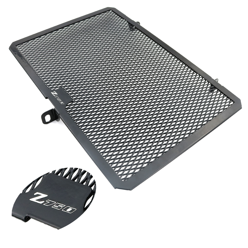 For Kawasaki Z750 2004-2012 Z750R 2011-2017 Radiator Guard Protector Frames Grille Grill Oil Cooler Cover Protection Aluminum