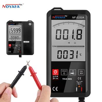 Noyafa NF-5330A cyfrowy multimetr zlicza kolorowy wyświetlacz LCD DC AC napięcie dioda pojemnościowa miernik Tester ciągłości tanie i dobre opinie Elektryczne CN (pochodzenie) 600uA 750V Wyświetlacz cyfrowy 1000V 0-50℃ Multimeter handheld Display Professional Digital Multimeter