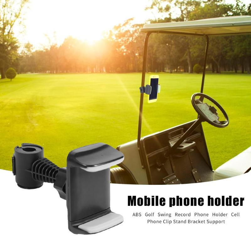 Rotatable Golf Swing Record Phone Holder Mobile Phone Clip Stand Bracket GPS Navigation Dashboard Phone Holder In Car
