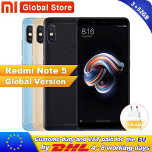 "Global Version Xiaomi Redmi Note 5 3GB 32GB Smartphone Snapdragon S636 Octa Core Mobile Phone 5.99"" 4000mAh 12.0MP+5.0MP(China)"