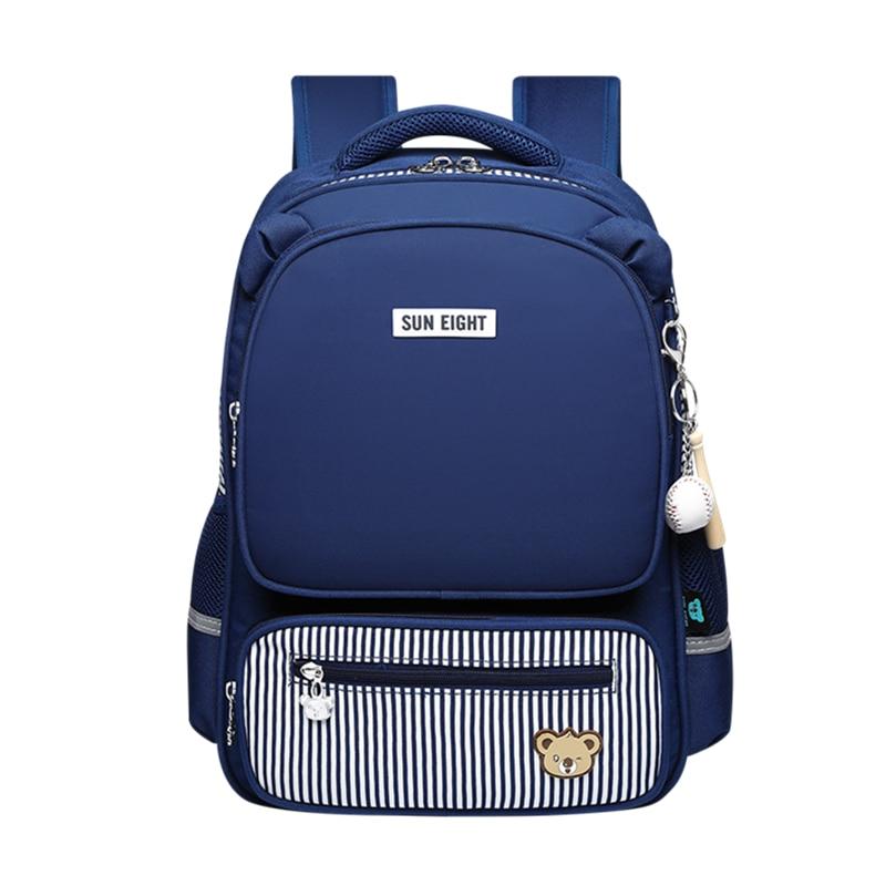OKKID kinder schule rucksack für mädchen primäre student orthopädische rucksack mädchen schul kinder schule tasche reflektierende streifen