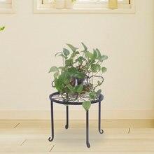 4 полки для растений с 1 круглыми узорами в черной краске выпечки