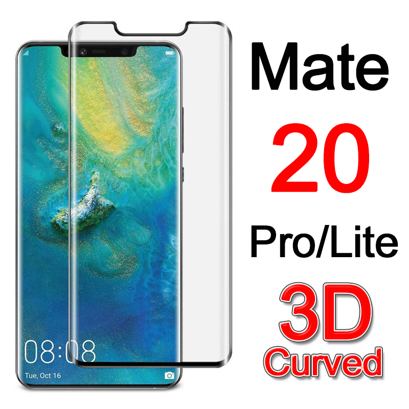 Mate 20 Pro Protective Glass For Huawei Mate20 20Pro Screen Protector Tempered Glas Mate20pro Lite Light 20lite 3D Curved Film
