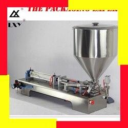 1-5000 ml Pneumatische kolben füllung von flüssigen paste serie Wein Milch Öl Waschmittel Oghourt Honig Saft Sauce Gel füllstoff Sauce