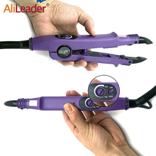 Alileader Professional Hair Extension Fusion Iron Heat Connector 1Pcs Temperature Constant Iron Keratin Fusion Connector Tool