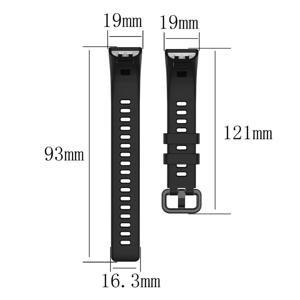 Silicone Wrist Strap For Huawei band 3 / band 3 pro Smart watch Wristband Sport Bracelet watch Band For Huawei band 4 pro