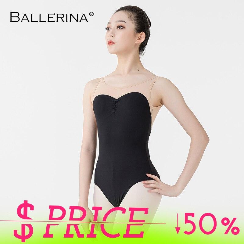 Ballerina Ballet Leotard Women Dancewear Professional Training Gymnastics Digital Printing Open Back Sexy Leotard 5657