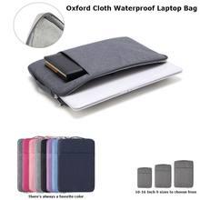 Saco do portátil é adequado para 11 12 13 15 Polegada macbook ar pro 2018 2019 mac portátil à prova dwaterproof água oxford pano capa protetora