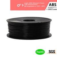 3D Printing Material Premium Solid ABS Filament 3D Printer 1.75mm 1KG Plastic Rubber Consumables Material