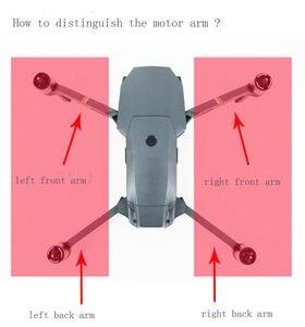 Image 2 - Original Vorne Hinten Links Rechts Motor Arm Mit Kabel ersatzteile für DJI Mavic Pro (Verwendet aber getestet)