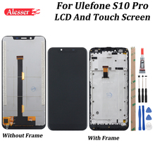 Alesser pour écran LCD et écran tactile Ulefone S10 Pro 5.7 avec assemblage testé pour téléphone + outils Ulefone S10 Pro
