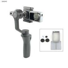 Soporte para adaptador de cámara, placa de montaje intercambiadora impresa 3D para DJI OSMO Mobile2 OSMO Action, accesorios para cámara