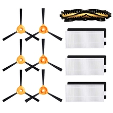 цена на Replacement for Deebot N79S Main Brush, Filter, Side Brush Accessory Kit for Ecovacs Deebot N79 N79S Robotic Vacuum Cleaner
