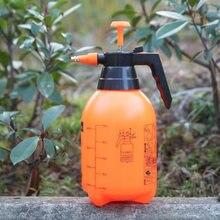 Пластиковая бутылка спрей для полива растений цветов