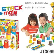 Детская развивающая игрушка стук играть хомяк Игра настольная игра игрушка родитель и ребенок интерактивная игра