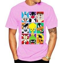 T-shirt Looney Tunes bug Tweety Daffy Taz
