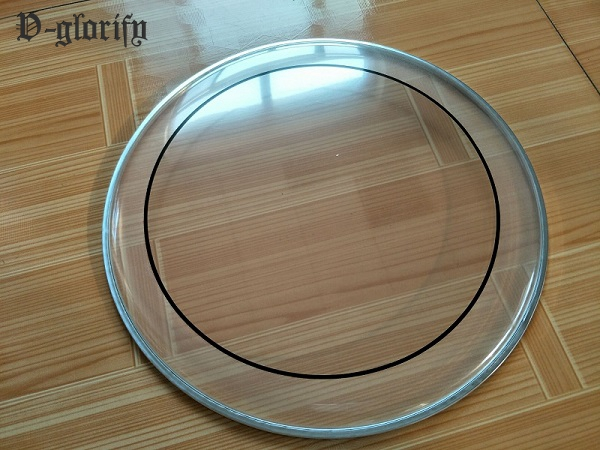 6inch 8inch 10inch Transparent Double Drum Skin Drum Head  Factory Made
