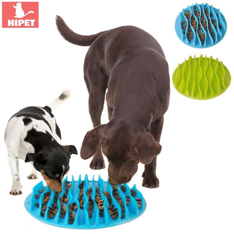 猫食品ボウル遅い食べる犬給餌ボウルシリコーン抗スリップペット食品料理肥満子犬犬ボウル猫給餌ボウル