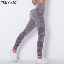 Высокоэластичные штаны для йоги женские ягодицы фитнес упражнения