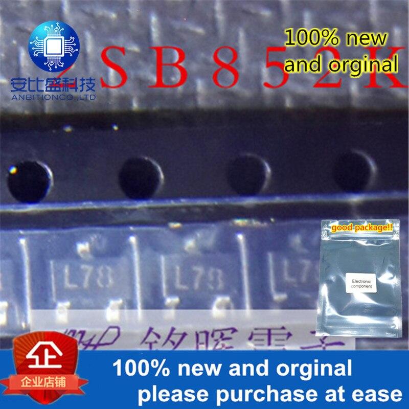10pcs 100% New And Orgianl 2SB852K Silk-screen L78 SOT-23 In Stock