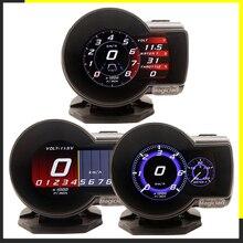 Профессиональный маг OBD2 F835 дисплей на голову Автомобильный цифровой датчик напряжения измеритель скорости температура воды сигнализация масло Авто F 835 OBD 2