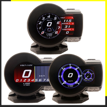 Beroep Goochelaar OBD2 F835 Head Up Display Auto Digitale Boost Gauge Voltage Speed Meter Water Temp Alarm Olie Auto F 835 Obd 2