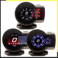 Profession Magician OBD2 F835 Head Up Display Car Digital Boost Gauge Voltage Speed Meter Water Temp Alarm Oil Auto F 835 OBD 2
