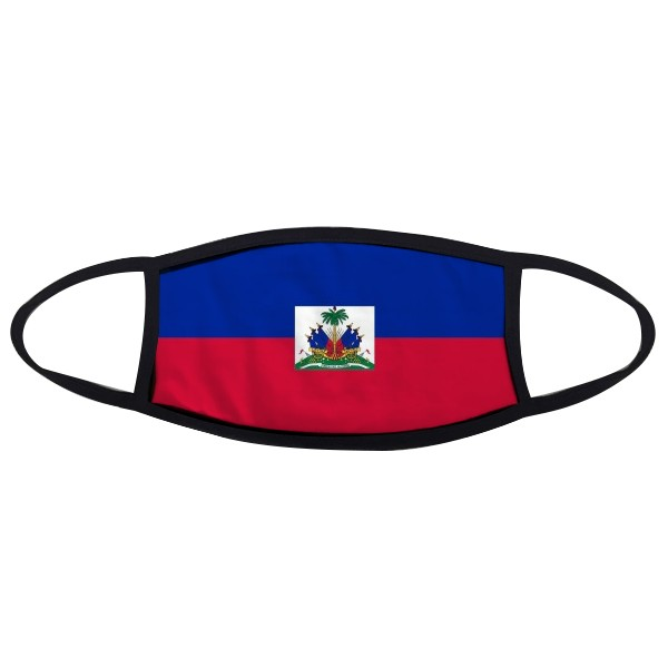 Haiti National Flag North America Country Symbol Mark Pattern Face Anti-dust Mask Anti Cold Maske