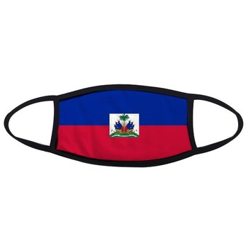 Haiti National Flag North America Country Symbol Mark Pattern Face Anti-dust Mask Anti Cold Maske cooking across america country comfort