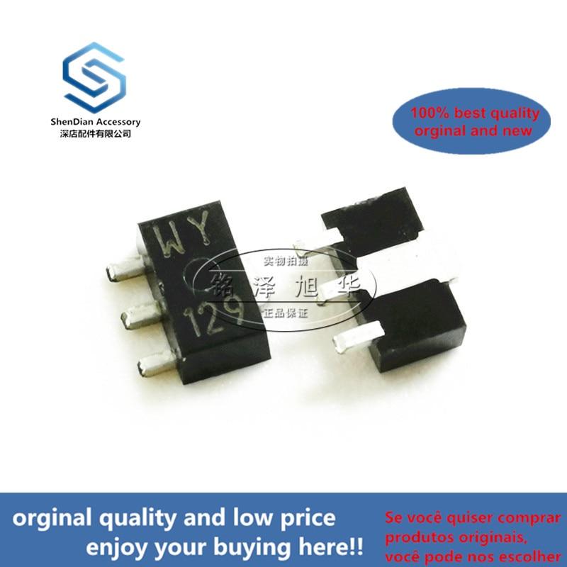 10pcs 100% Orginal New Best Qualtiy KTA1666-Y Silk-screen WY SOT-89 PNP PNP Transistors Real Photo