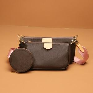 Высококачественная Новая женская сумочка, кошелек, Женская мини-сумка в стиле ретро, женская сумка через плечо, разноцветный ремешок на пле...
