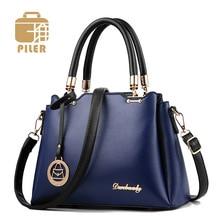 Famous Brand Leather Womens Handbags and Purses Top-Handle Bags Female Shoulder Bag Casual Tote Fashion Ladies Messenger Bags цена в Москве и Питере