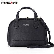 High Quality Shell Handbag Women Shoulder Bag Soft Leather Sac Female H