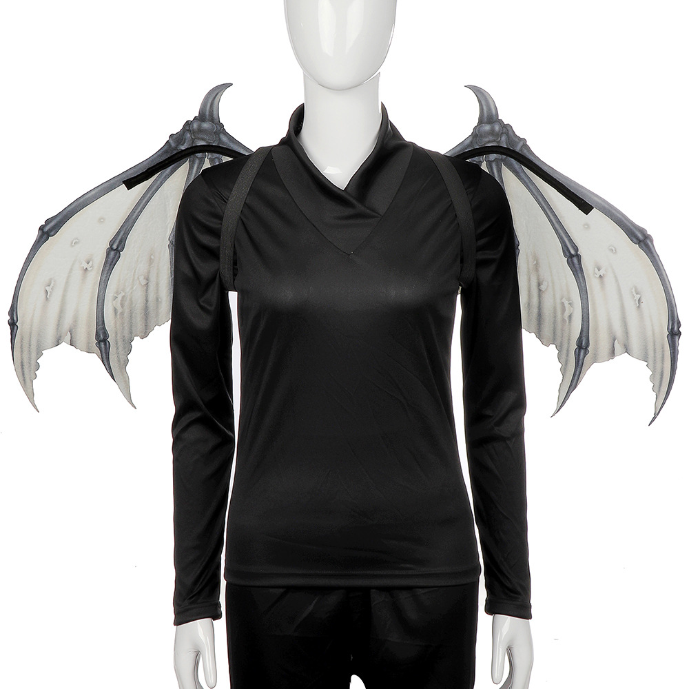 Fabric Devils Wings for Adults Bat Costume Wicked Horror Party Supplies Cosplay Halloween Carnival Props
