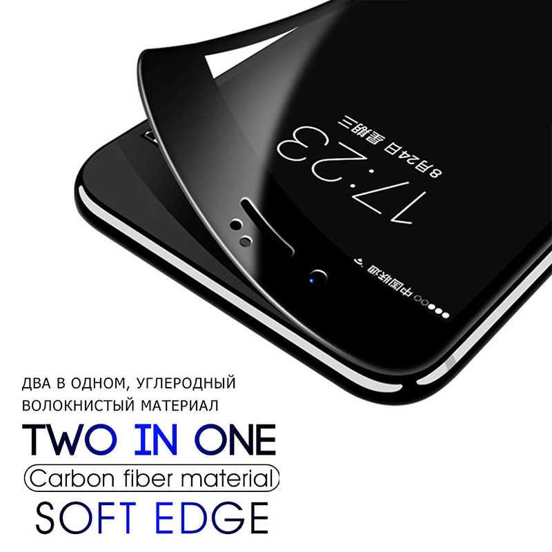 2 Chiếc Nắp Đầy Kính Cường Lực Trên Cho iPhone 7 8 6 6 S 6 S Plus Tấm Bảo Vệ Màn Hình Bảo Vệ Cho ốp Lưng iPhone X XS Max XR Cạnh Cong