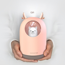 300ml USB Electric Aroma air diffuser Deer Ultrasonic air humidifier Essential oil Aromatherapy cool mist maker for home
