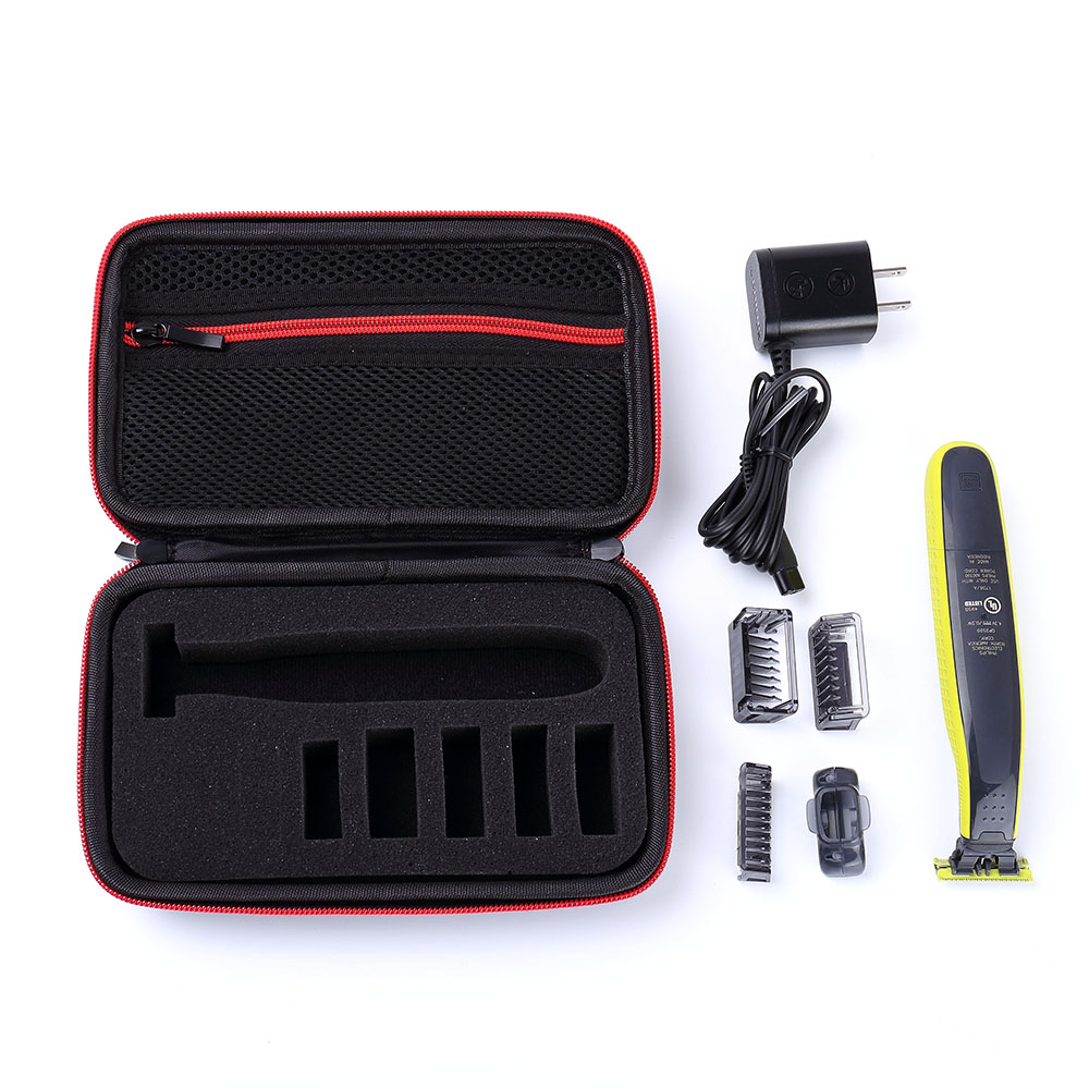 2019 New Carrying Case for Philips Norelco OneBlade Hybrid Electric Trimmer Shaver QP2520/70/90 and Accessories image