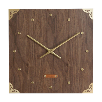 Chinese Art Wall Clock Silent Living Room Wood Quartz Wall Clock with Pendulum Creative Relogios Parede Home Decoration MM60WC