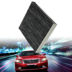 2Pcs 87139-50060 87139-YZZ08 Car Air Conditioning Carbon Fiber Cabin Air Filter For Toyota Camry RAV4 Matrix Avalon Sienna