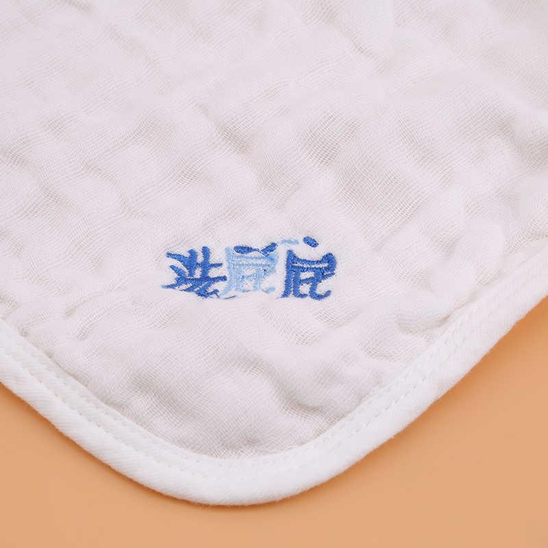 5 unids/set Toalla de bebé toallas de gasa de muselina pañuelo para babero recién nacido niños alimentación Burp paño bufanda cara lavable cosas