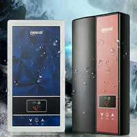 Calentador de agua eléctrico, es decir Tipo caliente, pequeño, sin almacenamiento, temperatura constante, colgante de pared, baño caliente rápido, baño doméstico Dios